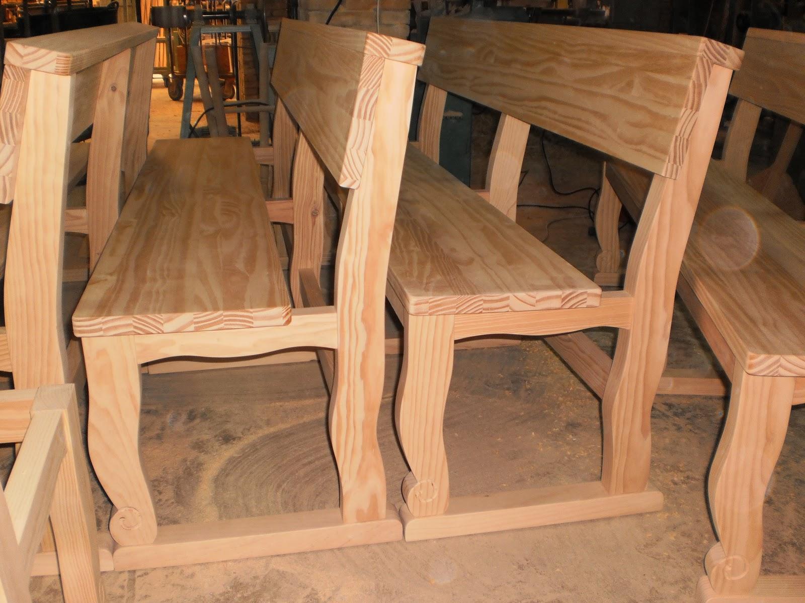Fabrica de bancos de madera pauli proceso de fabricacion for Fabricacion de bares de madera