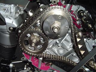 cadena de distribucion, motor de combustion interna
