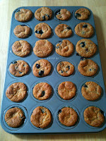 Gluten Free Blueberry Mini Muffins