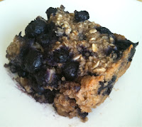 Blueberry Baked Oatmal