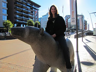 Janet and Bear in Oslo
