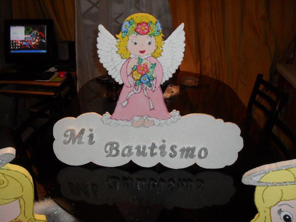 decoracion de cumpleaños: bautizos...