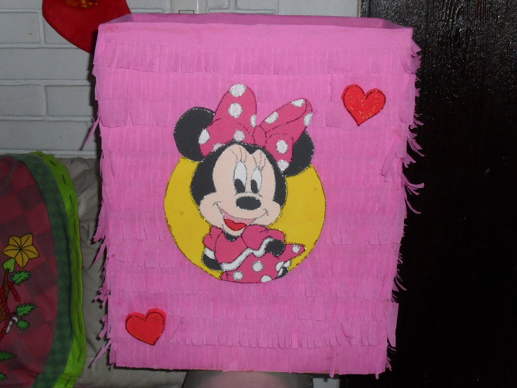 Baby Minnie Mouse Decoracion De Cumple Anos