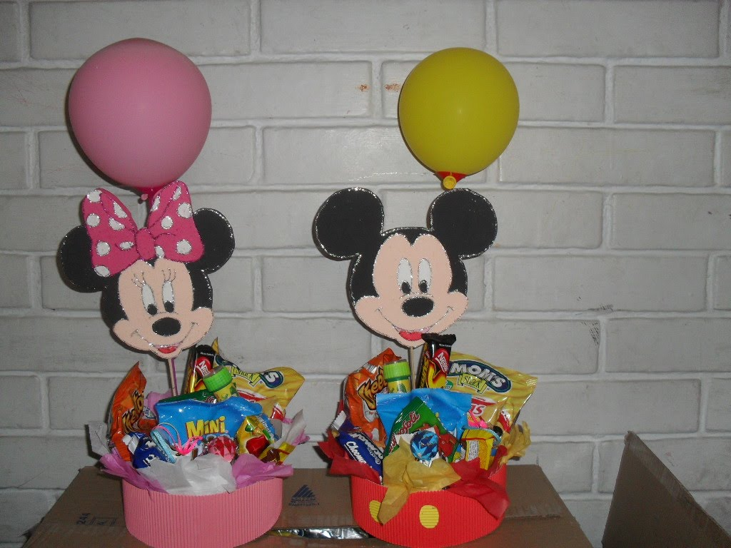 Dulceros De Minnie Mouse