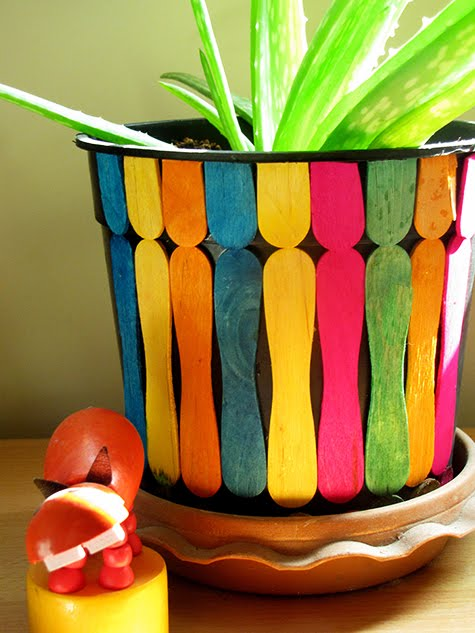 Living In Decor Simple Pot Decoration