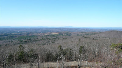 From summit of Fort Mountain looking towards Mt Kearsarge