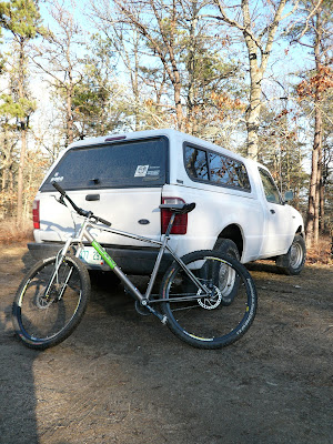 Post ride, clean bike