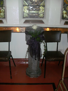 the christening font
