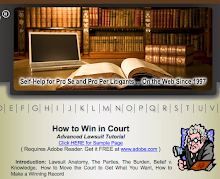 How to Win in Court - without a BARbarian...