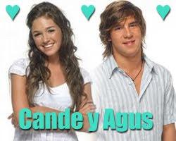 Candela Vetrano y Agustin Sierra