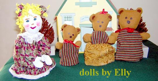 dolls by Elly
