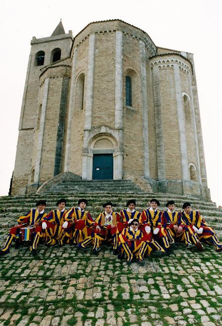Guardie Svizzere a Santa Maria