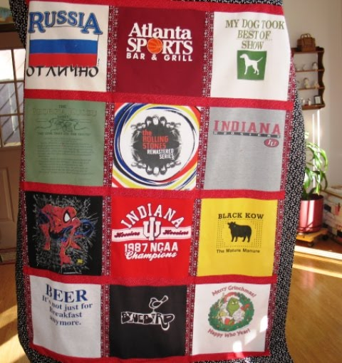 Shannon's Tee Shirt Quilts