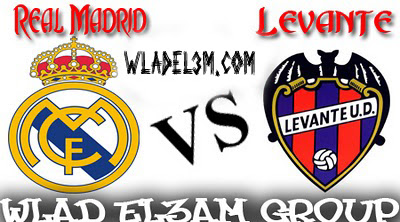 Watch Real Madrid vs Levante 6/1/2011 live stream online - ???? ??????? ??????? ??????????