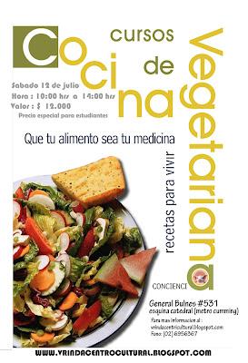 Centro cultural vrinda curso de cocina vegetariana curso intensivo - Curso de cocina vegetariana ...