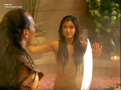 Naked from scorpion king