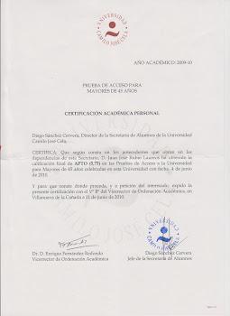ACCESO UNIVERSITARIO