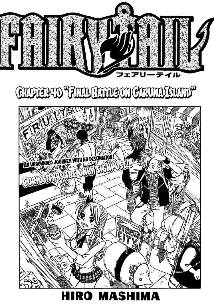 TruyenHay.Com - Ảnh 1 - Fairy Tail Chap 40