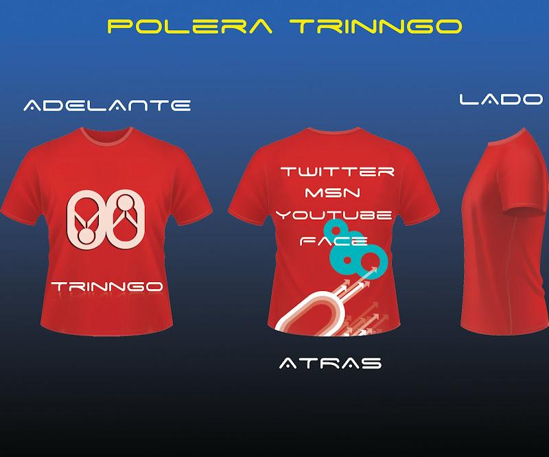 Este es el ejemplo de la nueva polera de Trinngo! title=