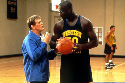 Nick Nolte y Shaquille O'Neal