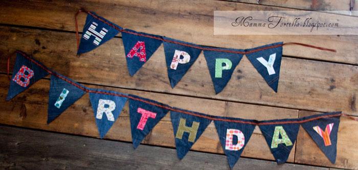 happy birthday banner tutorial. Birthday Banner Tutorial and