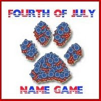 4th July Name Game