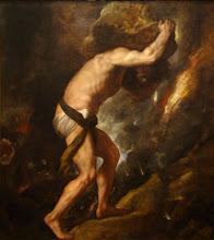 P1 Sisyphus by Titian, 1549