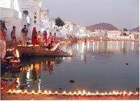 Brahma temple Pushkar, Pushkar Ghat