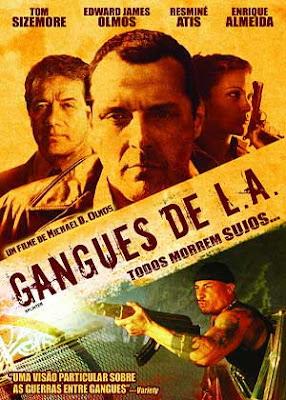 Filme Poster Gangues de L.A. DVDRip XviD & RMVB Dublado