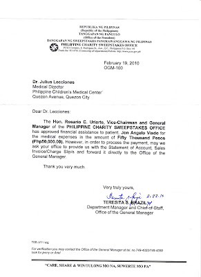 Sample Letter Of Request For Financial Assistance From The