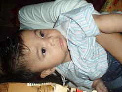 my luvly son MOHD IRFAN RAYYAN