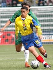 Giovanny Hernandez mostró ante Ecuador