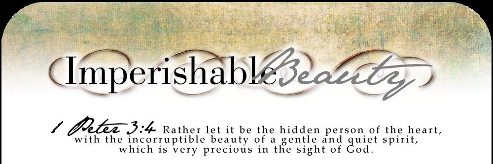 Imperishable Beauty - About