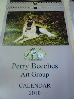 Perry Beeches art group calendar