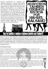 Nosotros también exigimos Justicia por Nahuel Balsano