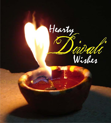 Hearty Diwali Wishes Wallpaper by nitinsarkar.