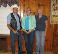 Sharon Hanlon, Joanne Morris, Bob Hanlon