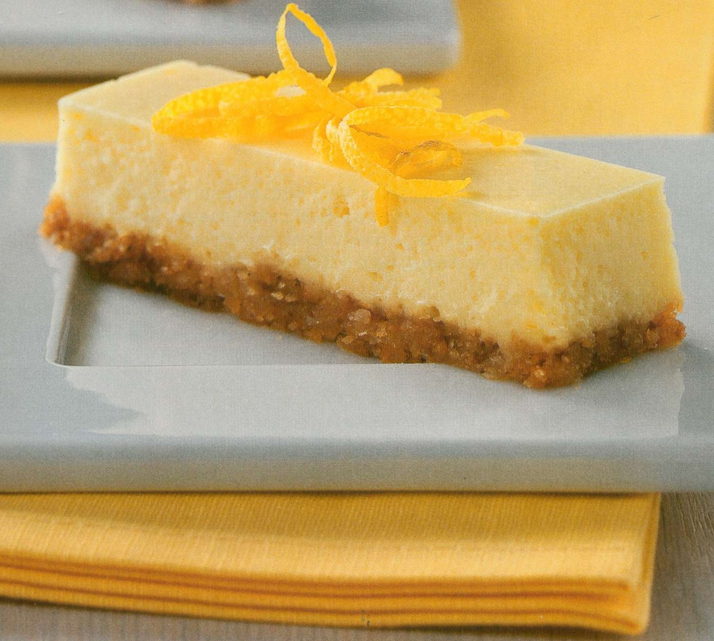 Rosanna's Kitchen: 3-Step Lemon Cheesecake Bars
