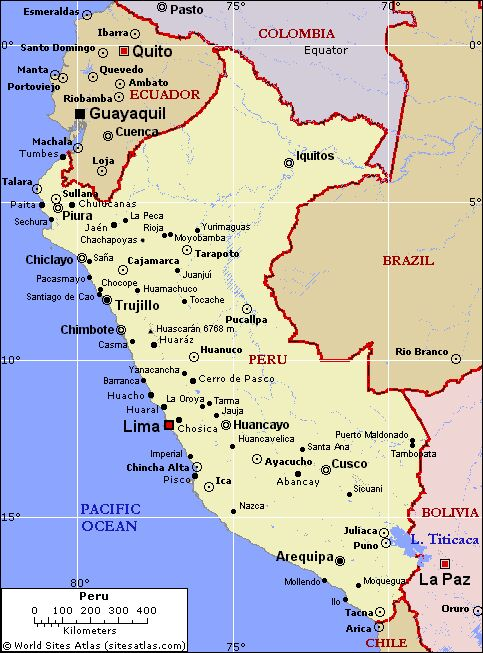 PREACHING IN PERU Where Is Guadalupe - Where is lima