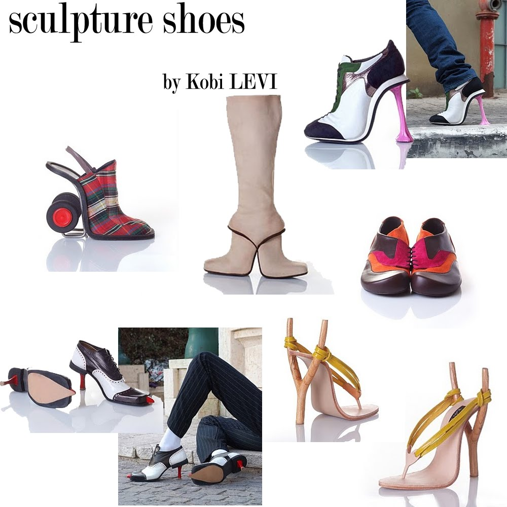 sculpture shoes kobi levi