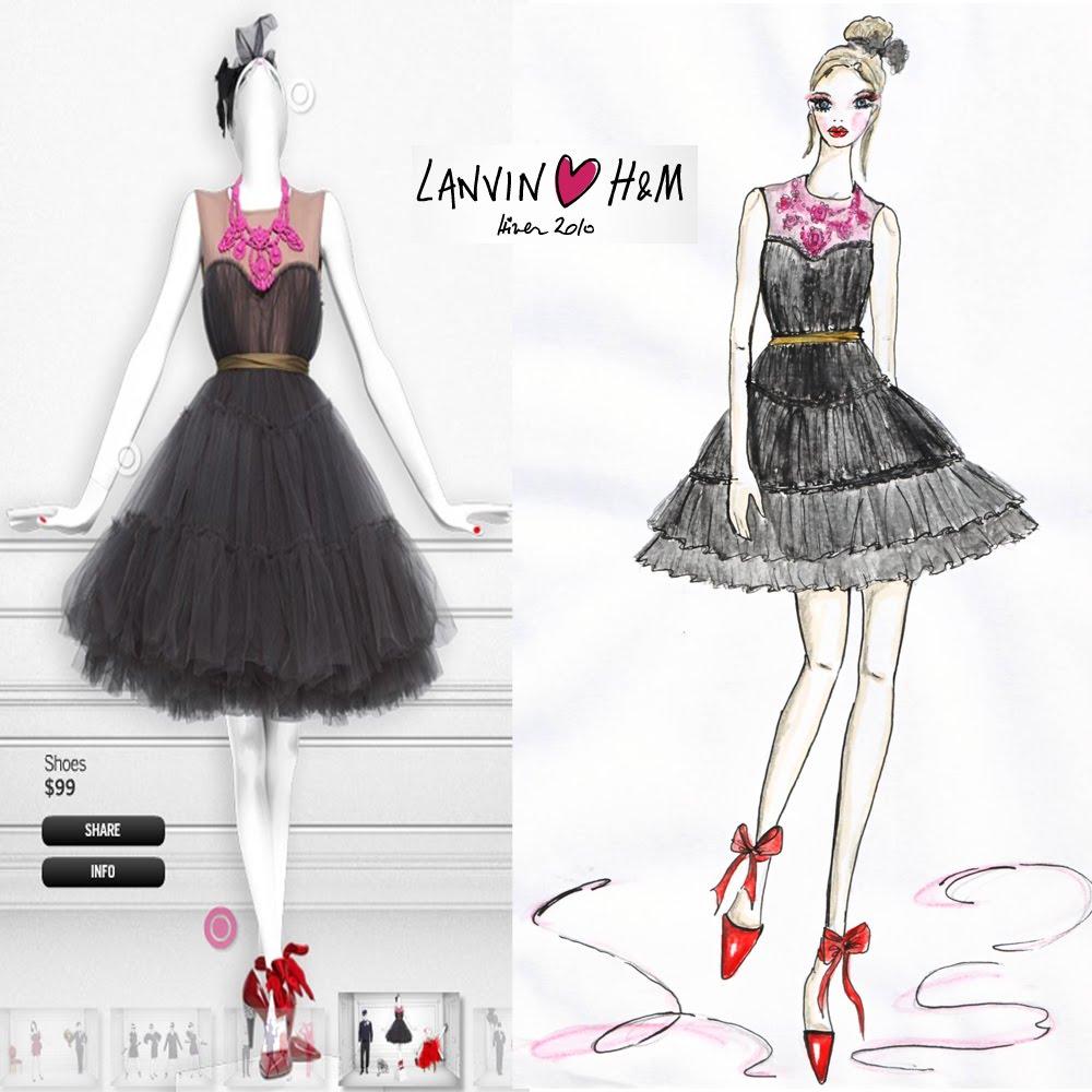 Lanvin_H&M_ilustrasyon