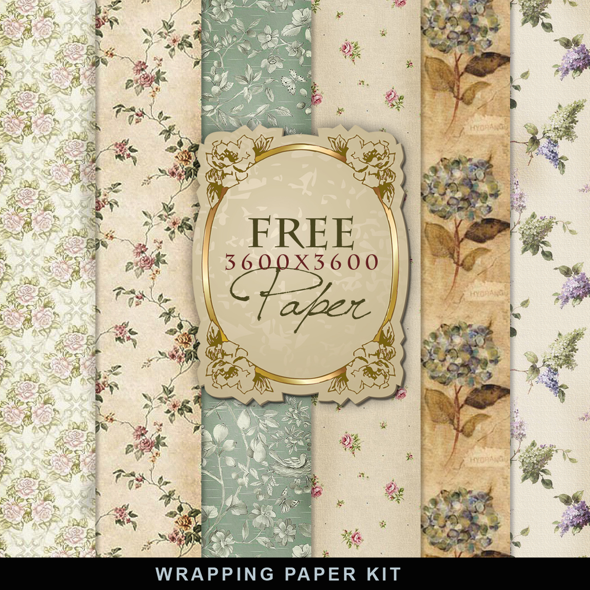 Vintage Book Cover Wrapping Paper : Freebies vintage wrapping paper far hill free