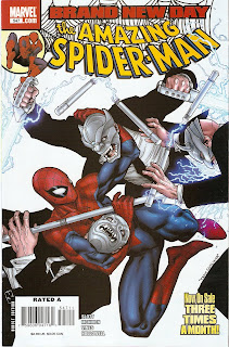 Spidey could NEVER fight ninjas in gargoyle masks if he were hitched!
