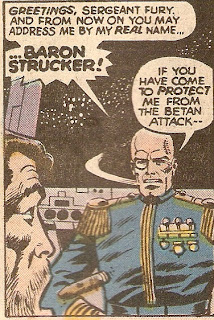 With a name like Strucker, he has to be evil