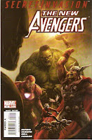 Next month: Bendis writes a story about the background of Celestial Madonna saga, in which NO ACTUAL AVENGERS APPEAR