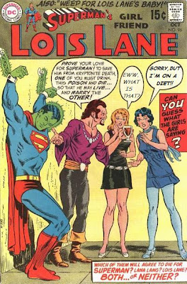 AgeWhy don't we have an internet channel dedicated to live action re-enactments of Lois Lane comics books?