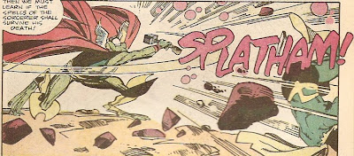 Simonson's sound effects should come with a pronunciation guide