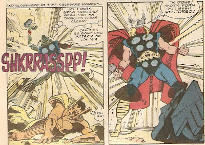 Great, now Thor's been transformed into Bazooka Joe!!