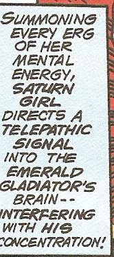 Saturn Girl tells ALL the guys they take 'every erg' she has...