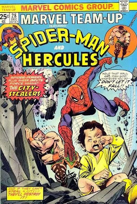 Spider-Man ordering gods around...